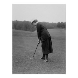 Mujer que pone, los años 20 impresiones