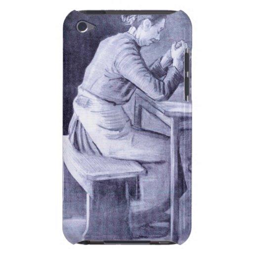 Mujer que ruega por Vincent van Gogh Case-Mate iPod Touch Cárcasa