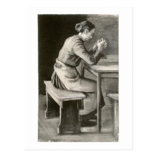 Mujer que ruega, Vincent van Gogh Tarjetas Postales