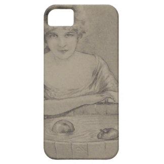 Mujer que se menea para el fiesta de Halloween de iPhone 5 Carcasas