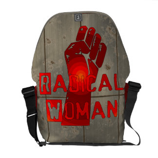 Mujer radical bolsas messenger