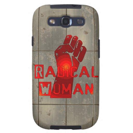Mujer radical galaxy s3 carcasas