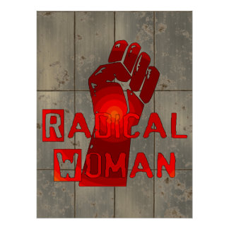 Mujer radical impresiones