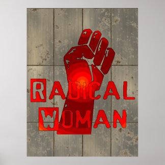 Mujer radical póster
