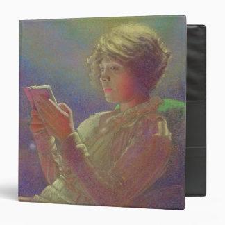 "Mujer Reading, 1921 Carpeta 1 1/2"""