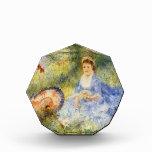 Mujer Renoir-Joven de Pedro con un paraguas japoné