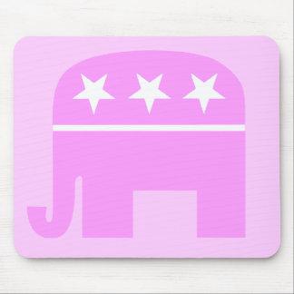 Mujer republicana Mousepad