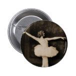 Mujer retra del bailarín de ballet de las mujeres  pins