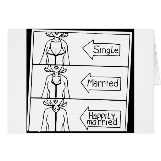 Mujer sola o casada felicitaciones
