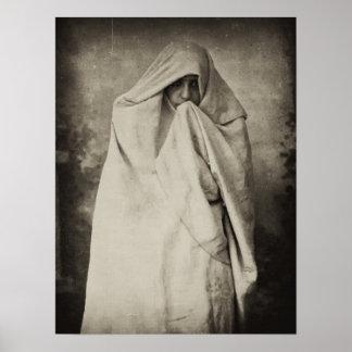 Mujer soltera en Tánger, Marruecos, 1898 Póster