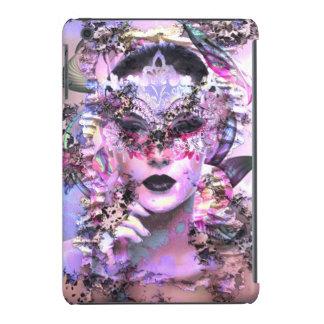 Mujer surrealista con la máscara funda para iPad mini retina