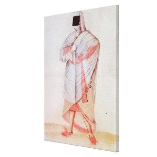 Mujer turca impresión en lienzo
