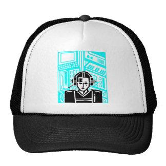 Mujer video del futuro/del futurismo gorra