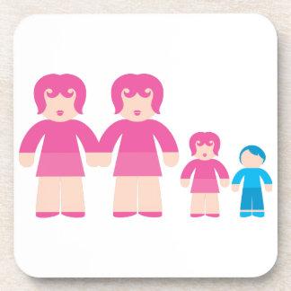 Mujer y niños de la mujer