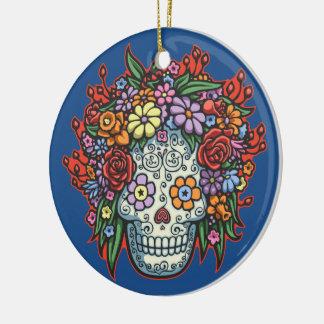 Mujere Muerta Con Gracias II Ceramic Ornament