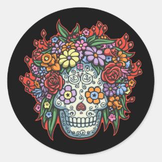 Mujere Muerta Con Gracias II Classic Round Sticker