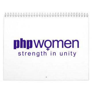 Mujeres 2010 del PHP (normales) Calendarios De Pared