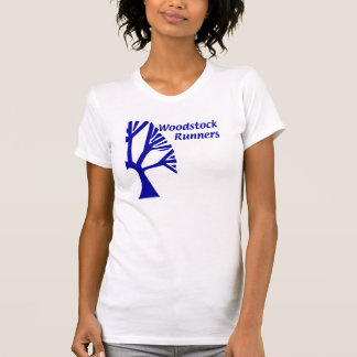 Mujeres 2 de la camiseta de Woodstock