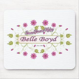 Mujeres americanas famosas del de Boyd de la bel Alfombrilla De Raton