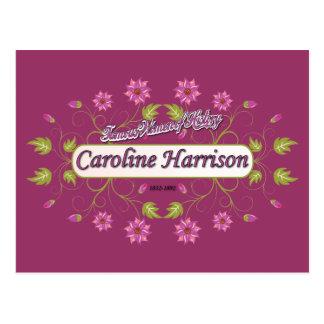 Mujeres americanas famosas del ~ de Caroline del ~ Postales