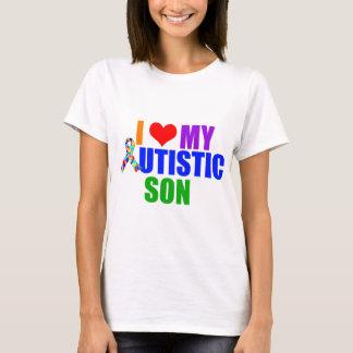 Mujeres autísticas del hijo playera