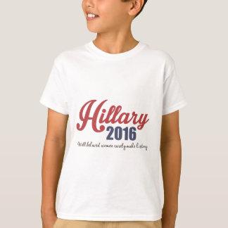 Mujeres bien comportadas Hillary 2016 Playera