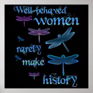 mujeres Bien-comportadas Posters