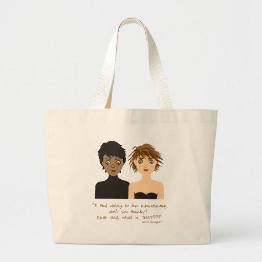 mujeres chocadas bolsa