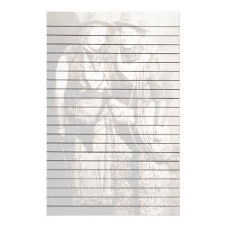 Mujeres con dos brazos de papel alineadas del papelería personalizada