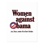 Mujeres contra Obama Postales