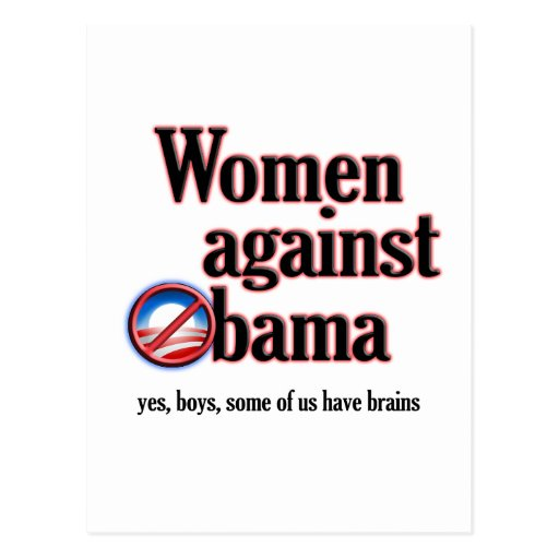 Mujeres contra Obama Postales