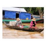 Mujeres de Camboya Tarjeta Postal