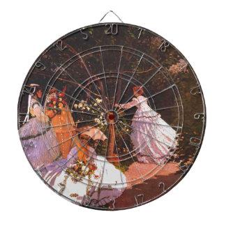 Mujeres de Claude Monet //en el jardín Tabla Dardos
