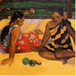 Mujeres de Gauguin Polinesia francesa Tahití Escultura Fotografica