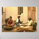Mujeres de Jerusalén que muelen el maíz 1895 Impresiones