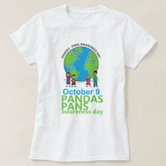 Mujeres de la camiseta del día de la conciencia de