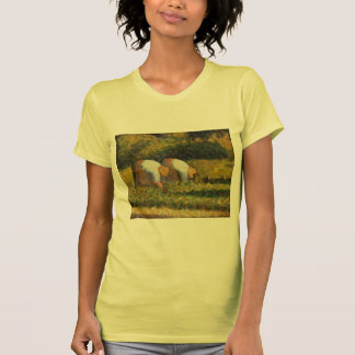 Mujeres de la granja de Jorte Seurat- en el trabaj Camiseta