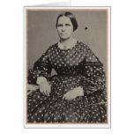 Mujeres de la guerra civil, retrato 1 del estudio tarjetón