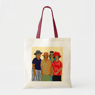 Mujeres de la iglesia bolsa tela barata