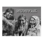 Mujeres de la isla de Nunivak, Alaska