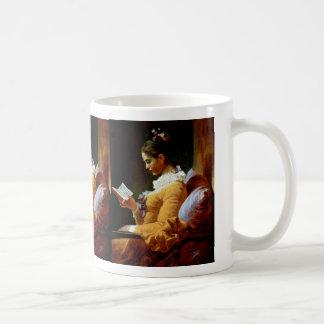Mujeres de la lectura de Fragonard Jean Honoré (el Taza De Café