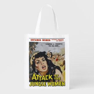 Mujeres de la selva bolsa reutilizable