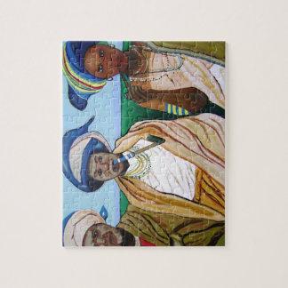Mujeres de la xhosa puzzle con fotos