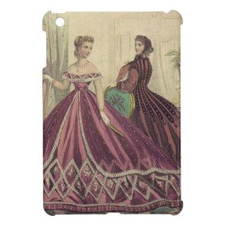 Mujeres de los 1860s del vintage