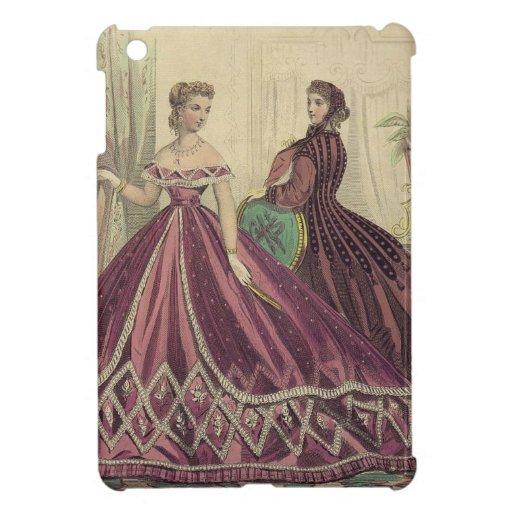 Mujeres de los 1860s del vintage iPad mini cárcasa