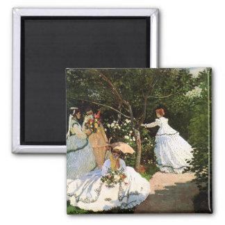 Mujeres de Monet en el imán del jardín