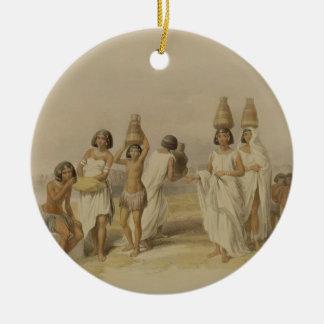 """Mujeres de Nubian en Kortie en el Nilo, de """"Egipto Ornamentos De Reyes Magos"""