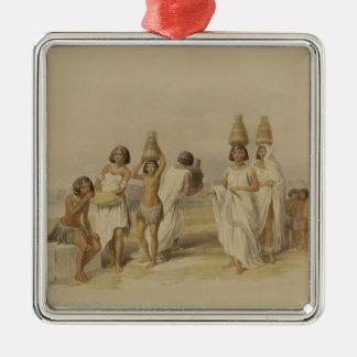 """Mujeres de Nubian en Kortie en el Nilo, de """"Egipto Ornamentos De Navidad"""