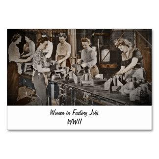 Mujeres de WWII en planta de fabricación