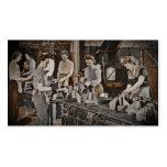 Mujeres de WWII en planta de fabricación Plantilla De Tarjeta De Visita